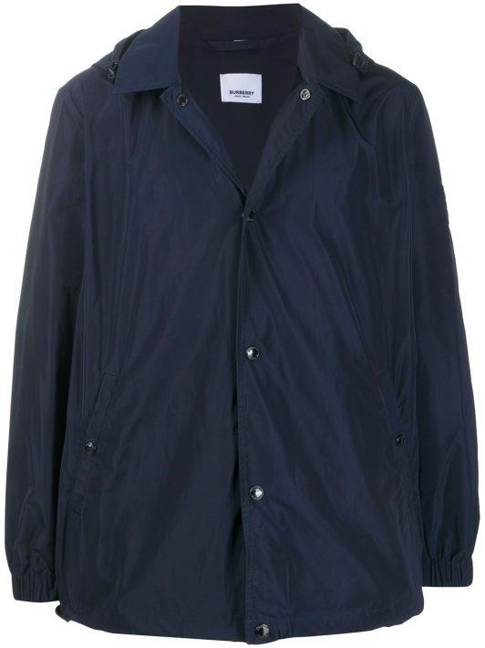 Burberry 'Ealing' Mantel - Blau