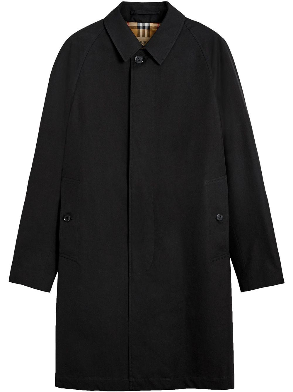 Burberry ''The Camden' Mantel - Schwarz