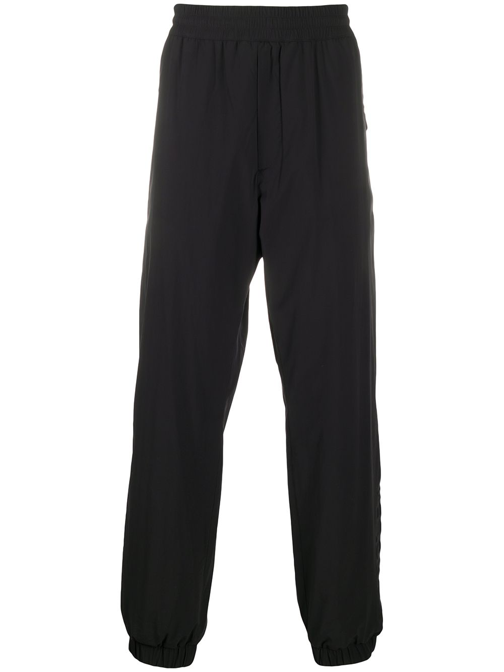 Moncler Grenoble Sporthose mit elastischen Bündchen - Schwarz