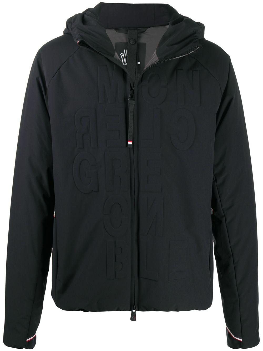 Moncler Grenoble zip jacket - Schwarz