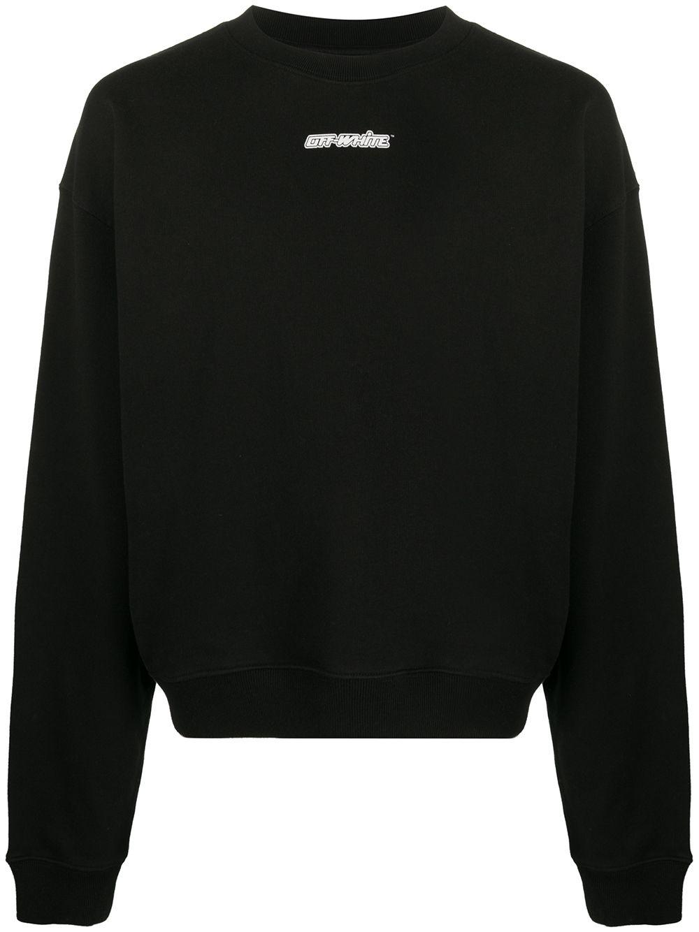 """Off-White Sweatshirt mit """"Marker Arrows""""-Print - Schwarz"""