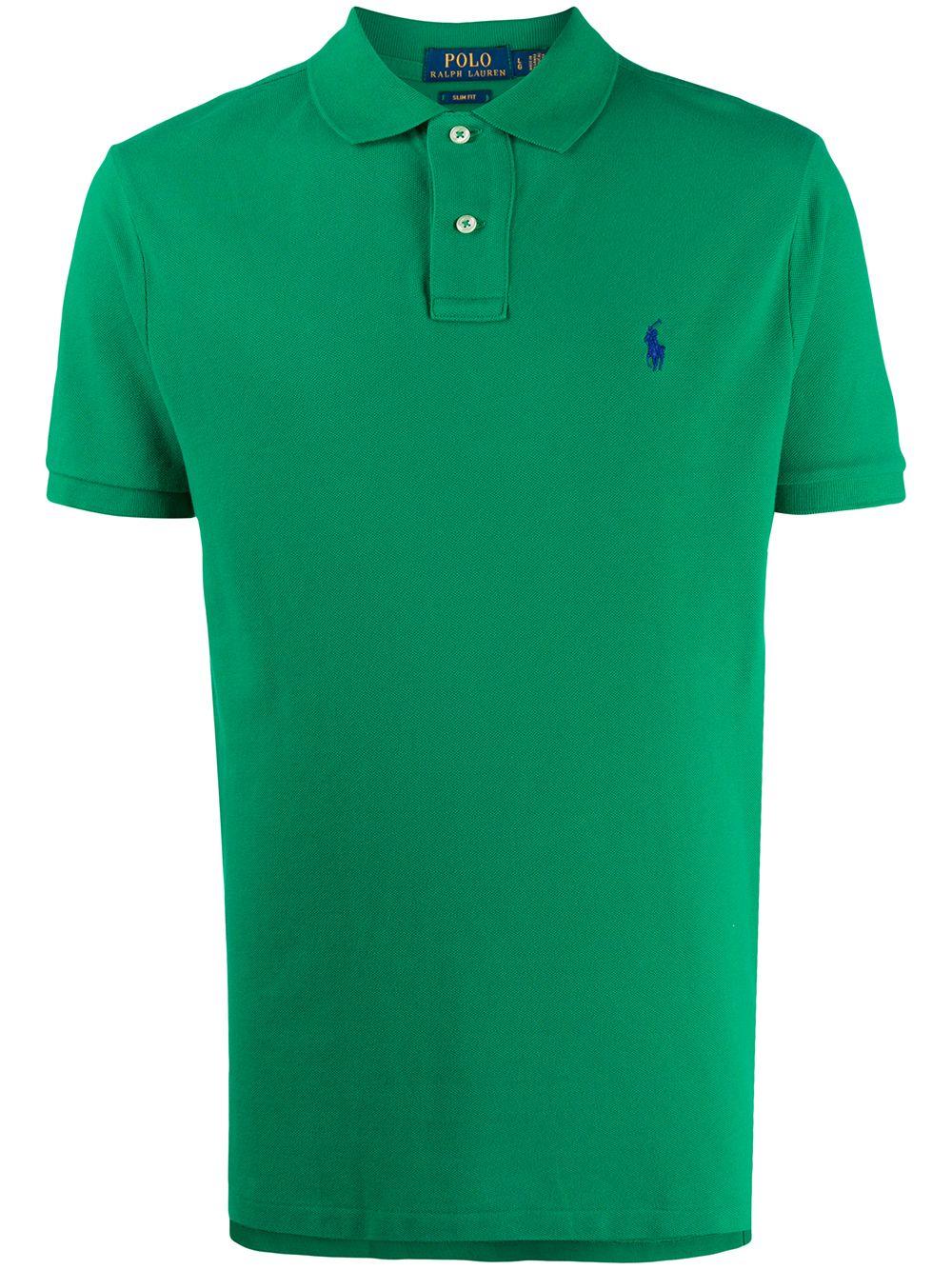 Polo Ralph Lauren 'Big Pony' Poloshirt - Grün