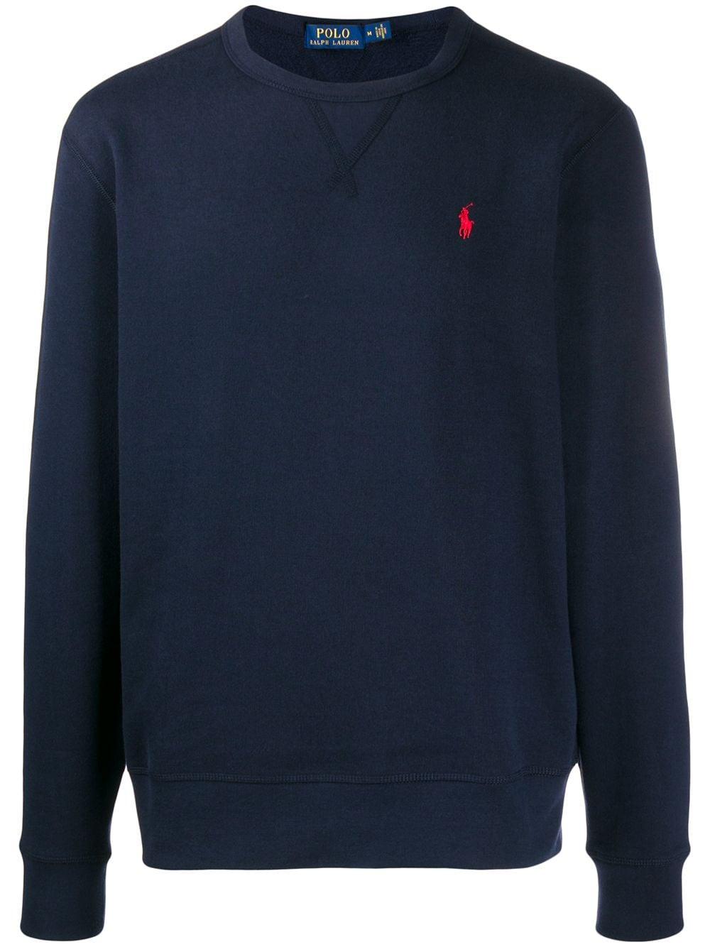 Polo Ralph Lauren Pullover mit Rundhalsausschnitt - Blau
