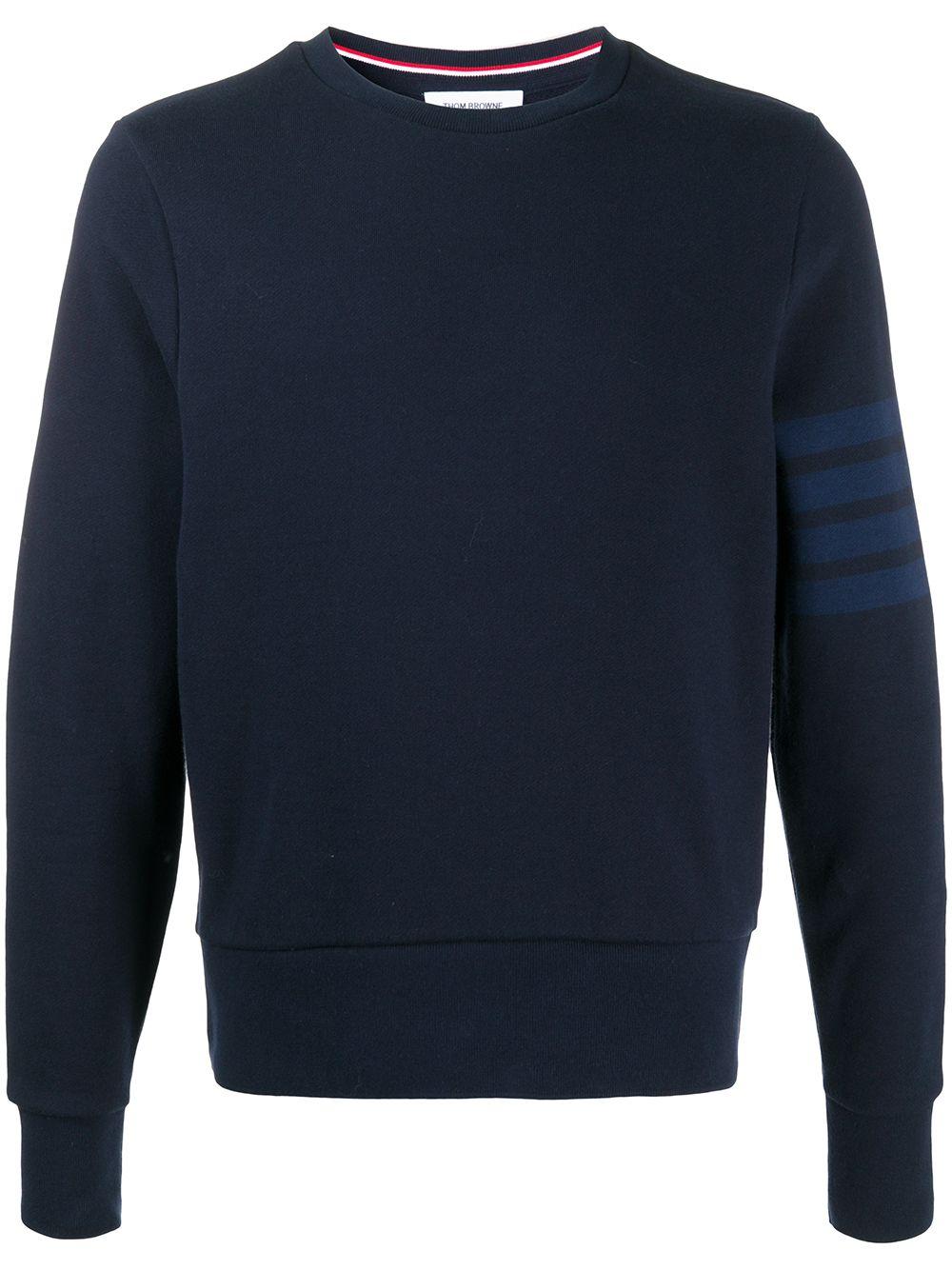 Thom Browne Sweatshirt mit lockerem Schnitt - Blau