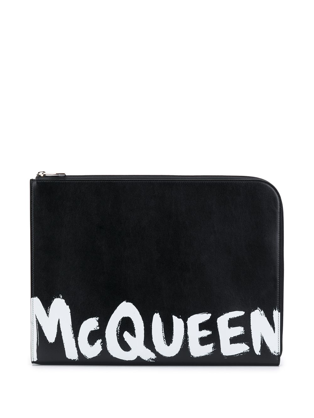 Alexander McQueen Klassische Aktentasche - Schwarz