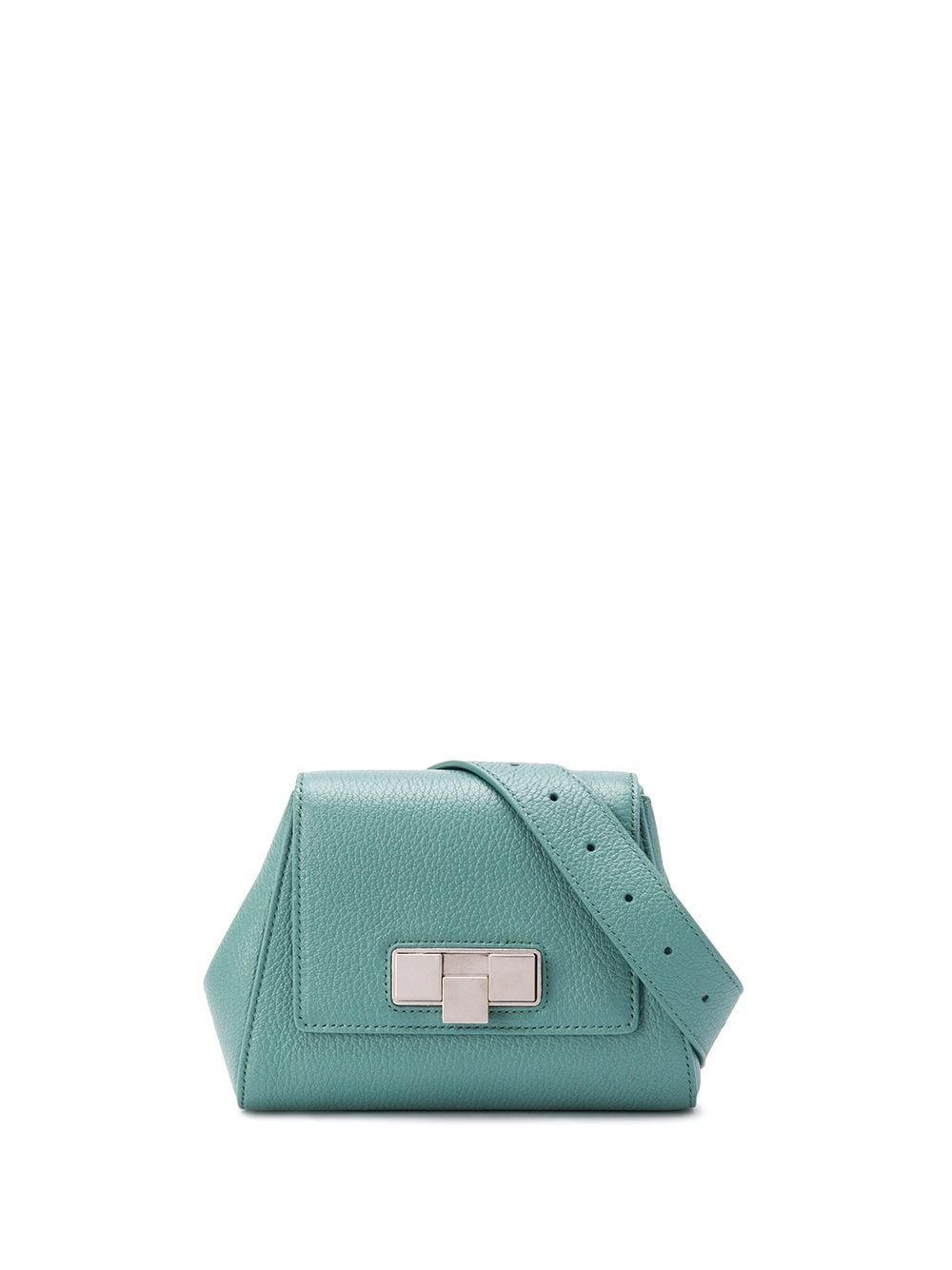Bottega Veneta Mini Gürteltasche aus Leder - Blau