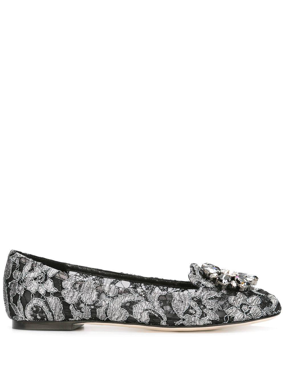 Dolce & Gabbana 'Vally' Slipper - Schwarz