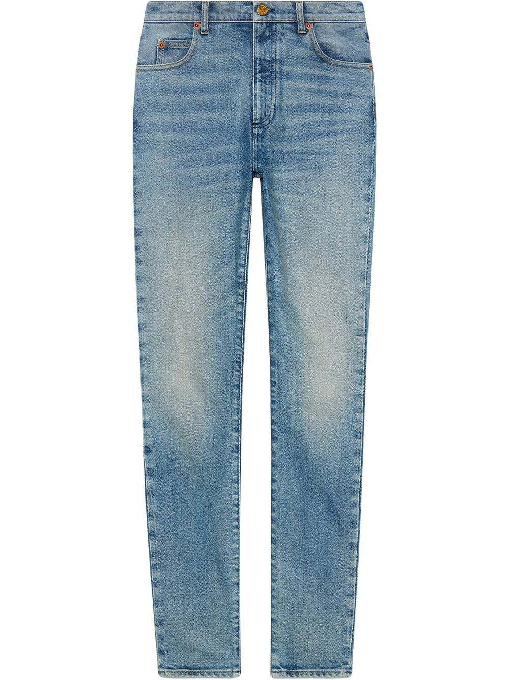Gucci Klassische Skinny-Jeans - Blau