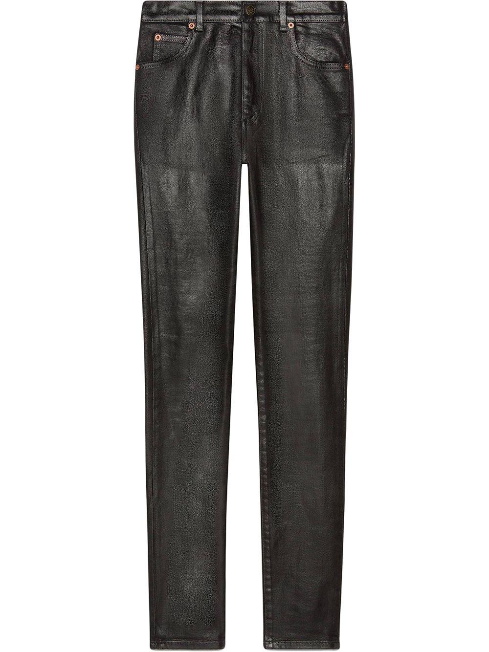 Gucci Klassische Skinny-Jeans - Schwarz