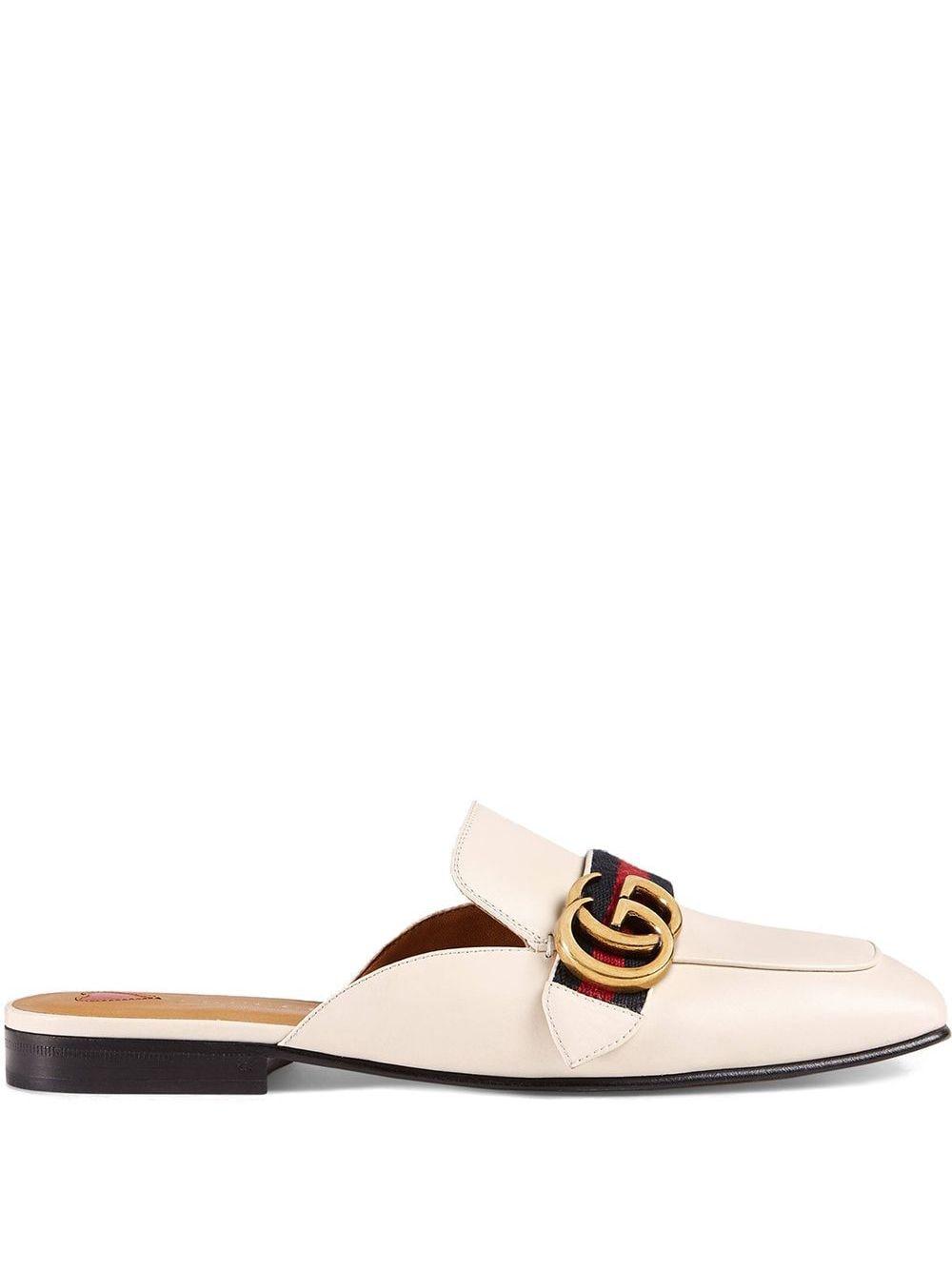 Gucci Klassische Slipper - Weiß