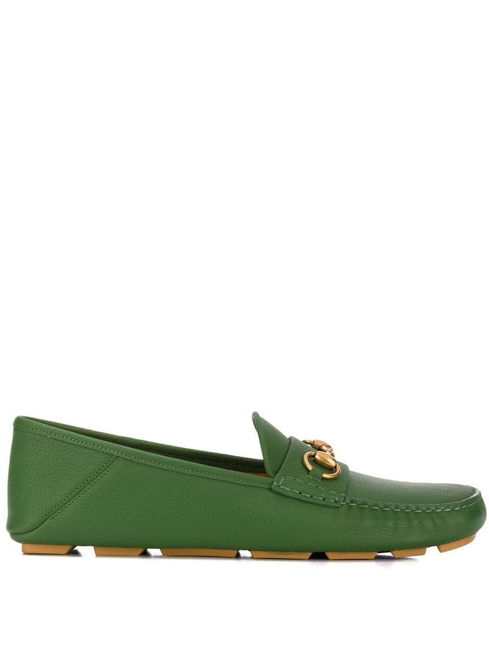 Gucci Loafer mit Horsebit-Spange - Grün
