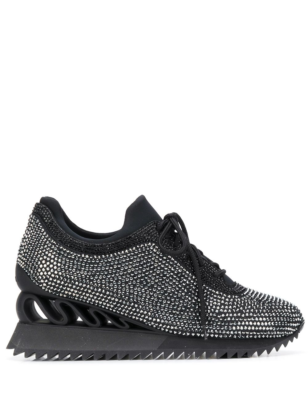 Le Silla 'Reiko Wave' Sneakers - Schwarz