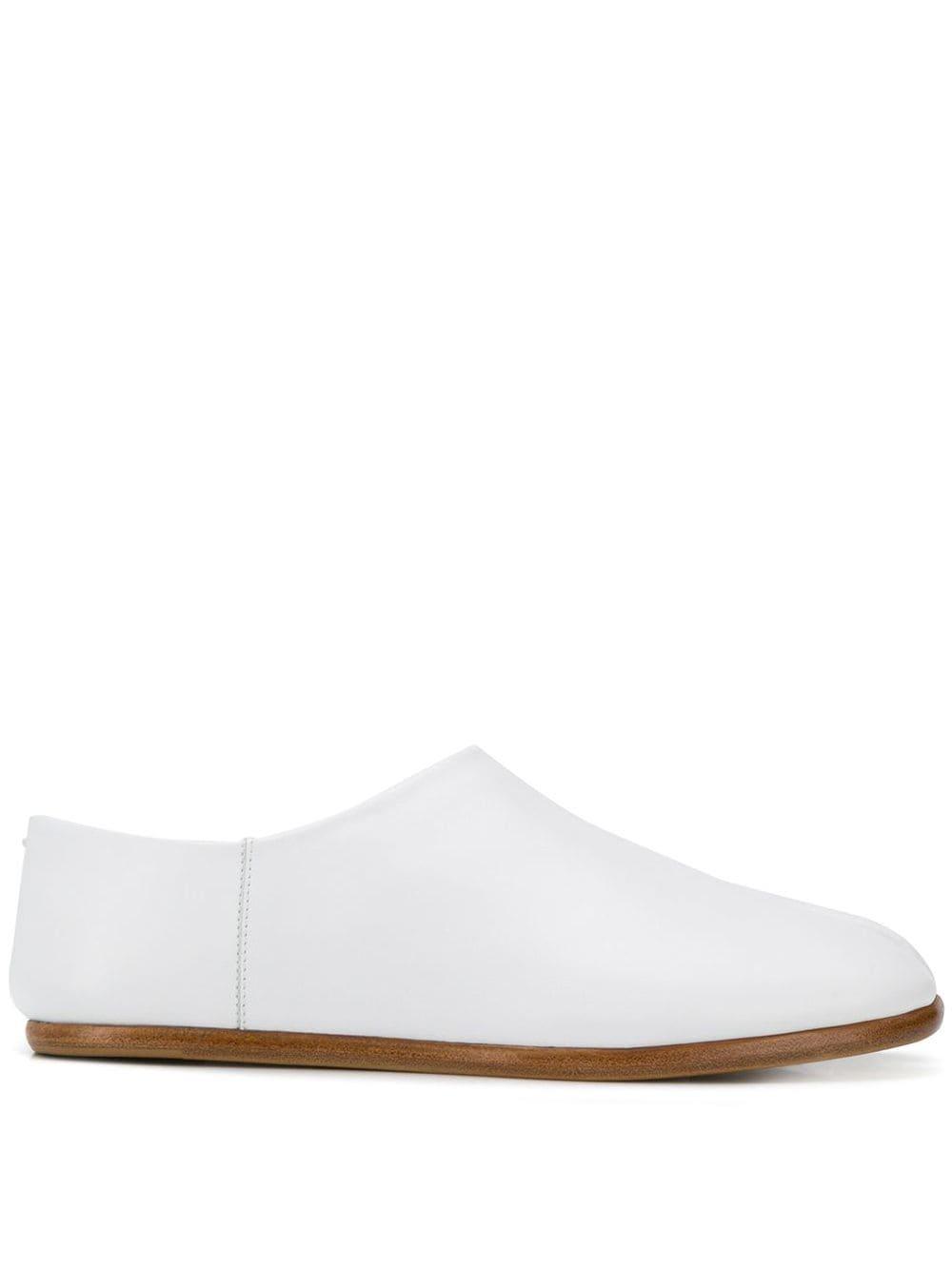 Maison Margiela Slipper mit Tabi-Kappe - Weiß