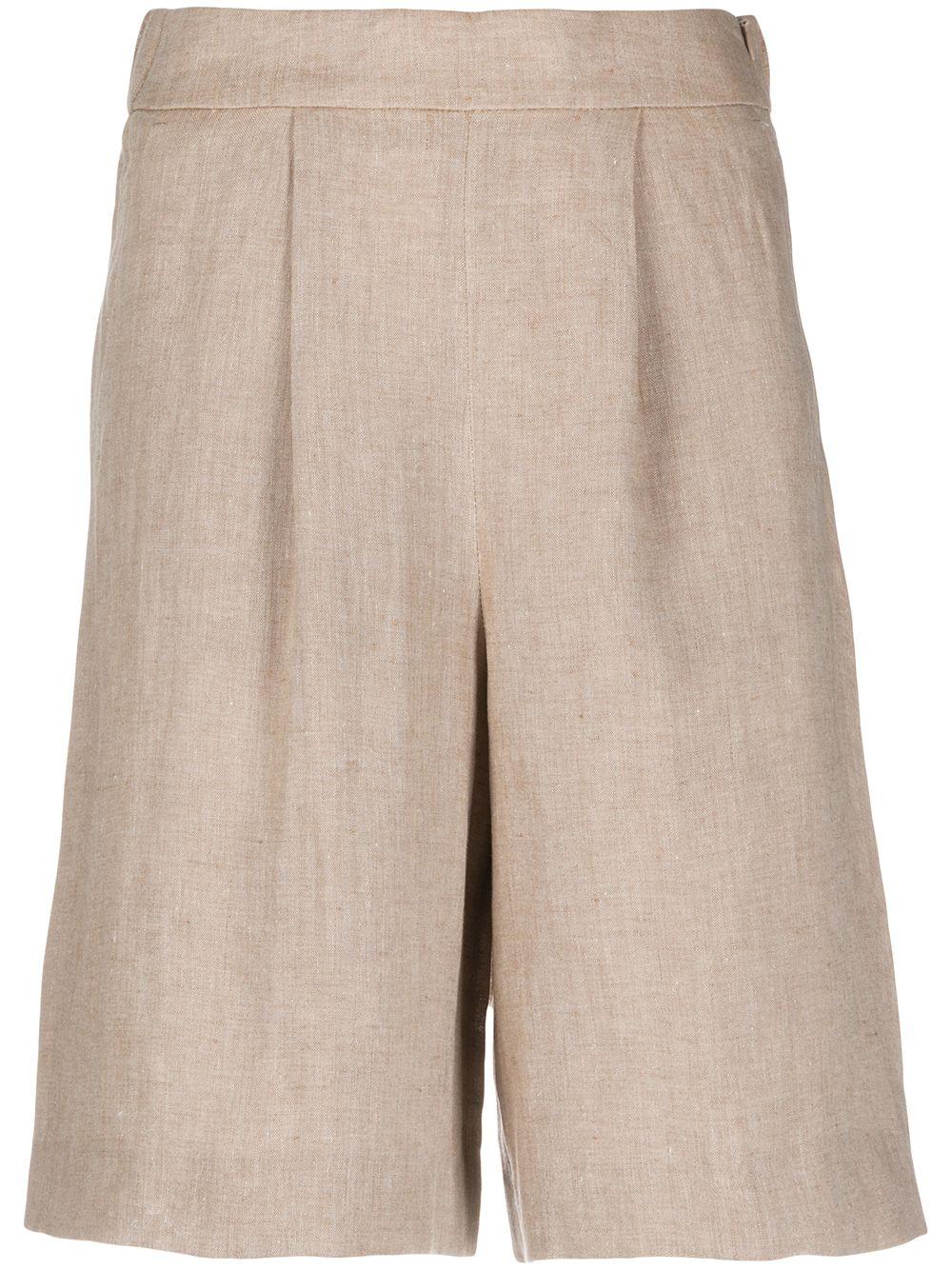 Peserico Shorts mit lockerem Schnitt - Nude