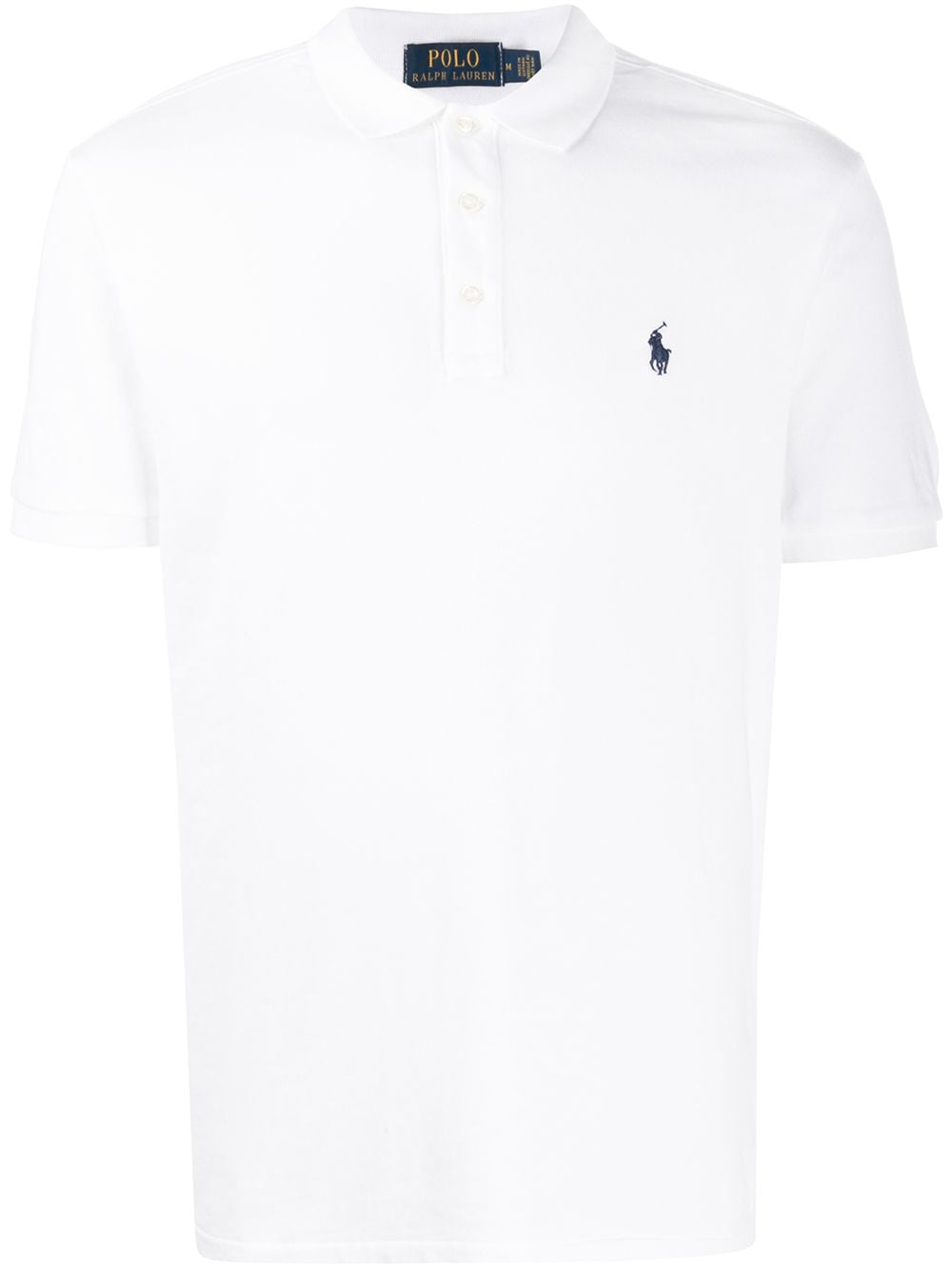 Polo Ralph Lauren Jersey-Poloshirt - Weiß