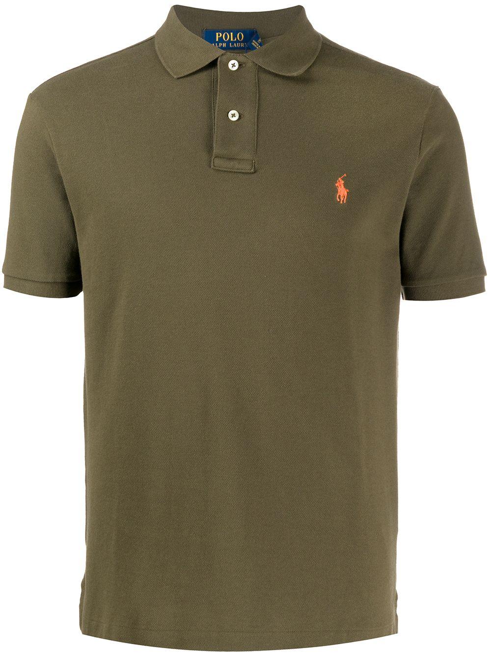 Polo Ralph Lauren Pikee-Poloshirt - Grün