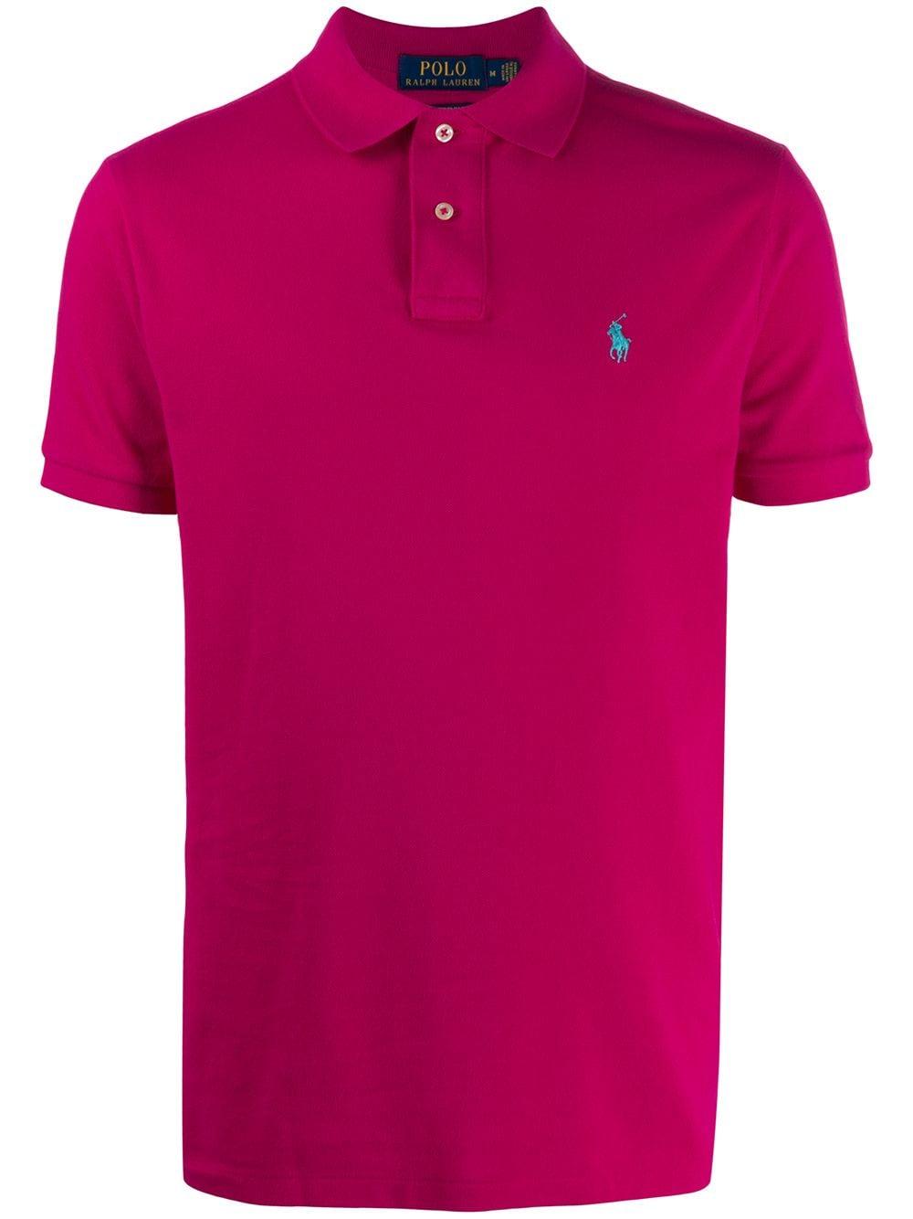 Polo Ralph Lauren Pikee-Poloshirt - Rosa