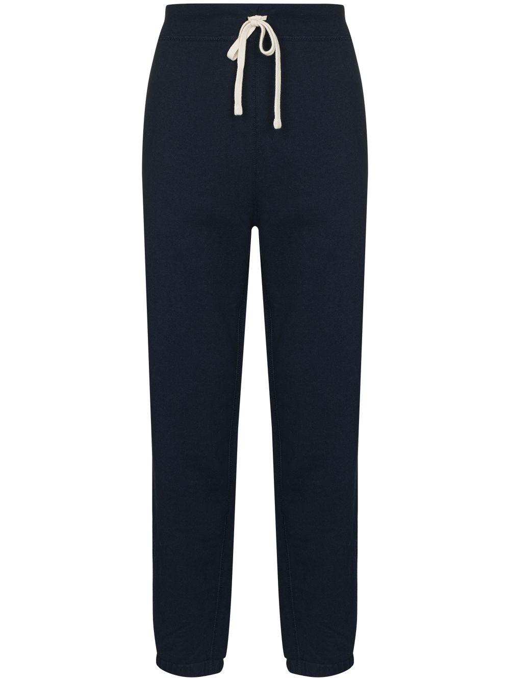 Polo Ralph Lauren drawstring waist track pants - Blau