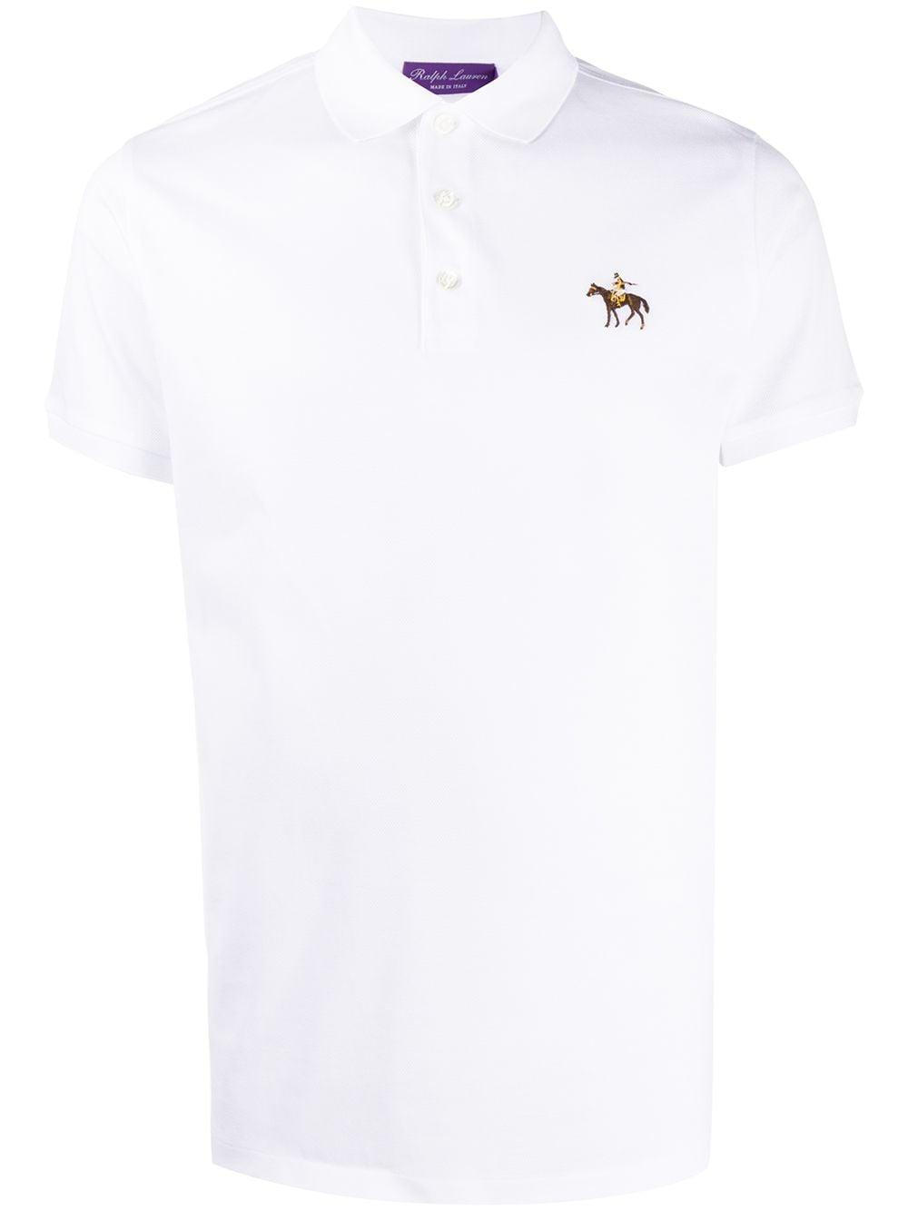 Ralph Lauren Poloshirt mit Logo-Stickerei - Weiß