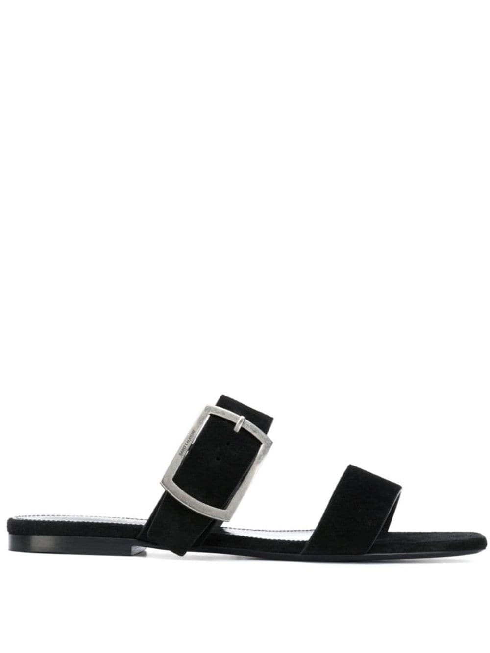 Saint Laurent 'Oak' Sandalen - Schwarz