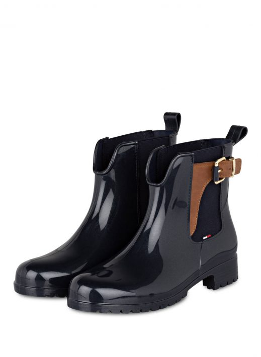 Tommy Hilfiger Gummi-Boots Oxley blau