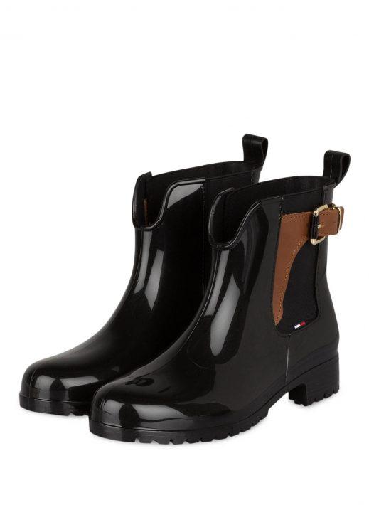 Tommy Hilfiger Gummi-Boots Oxley schwarz