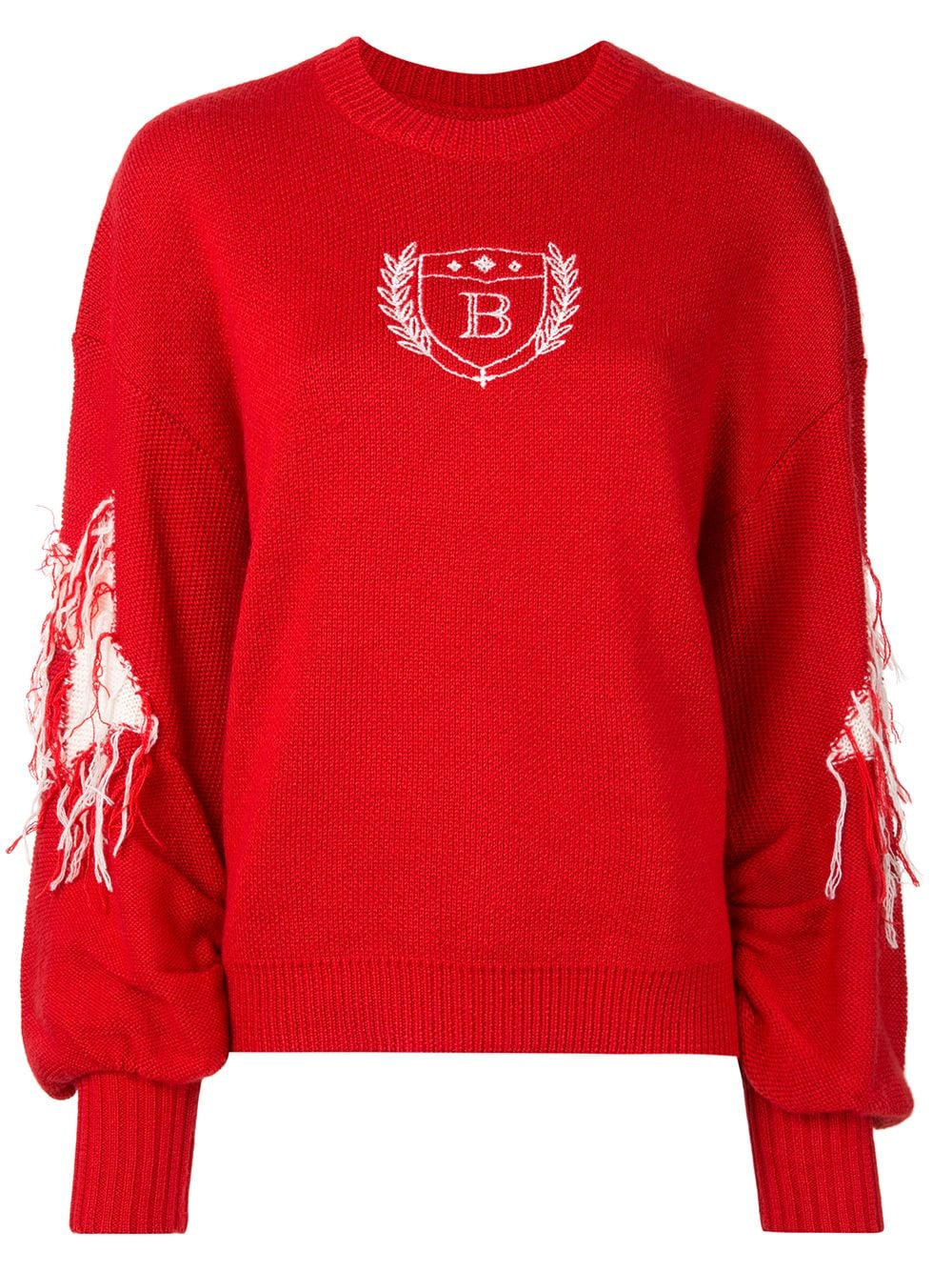 BAPY BY *A BATHING APE® Pullover mit Stickerei - Rot