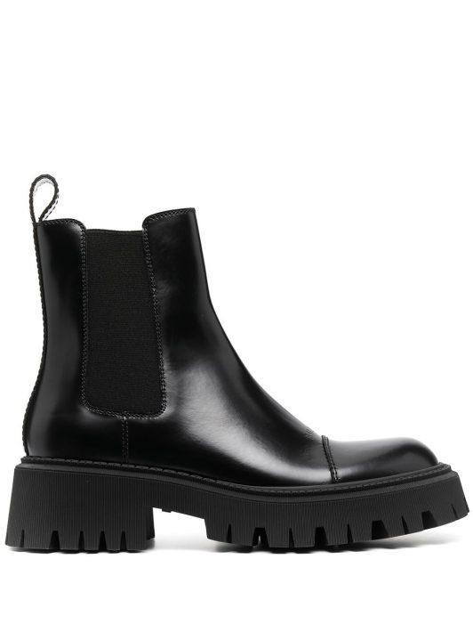Balenciaga Tractor Chelsea boots - Schwarz