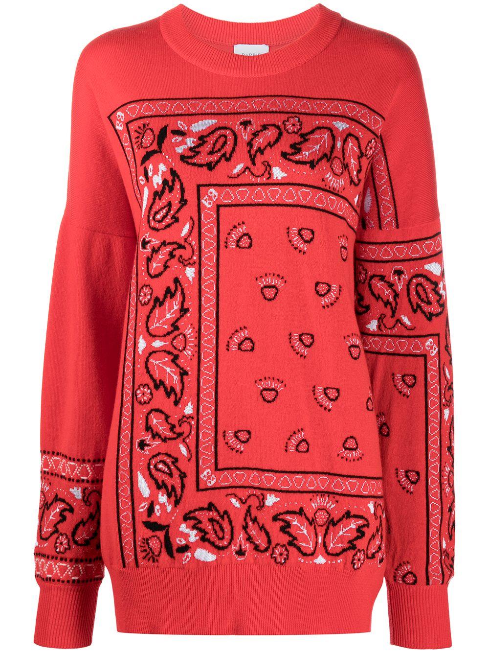 Barrie Pullover aus Kaschmir - Rot