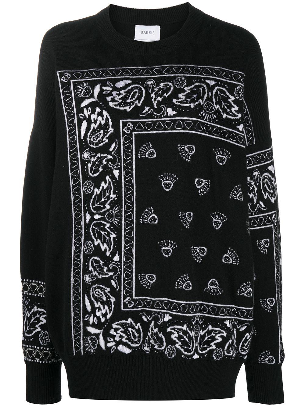 Barrie Pullover aus Kaschmir - Schwarz
