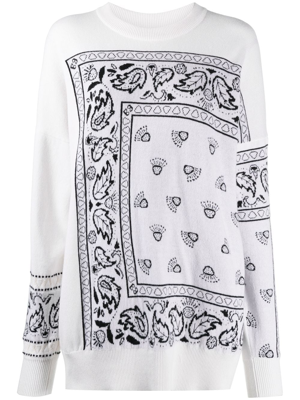 Barrie Pullover aus Kaschmir - Weiß