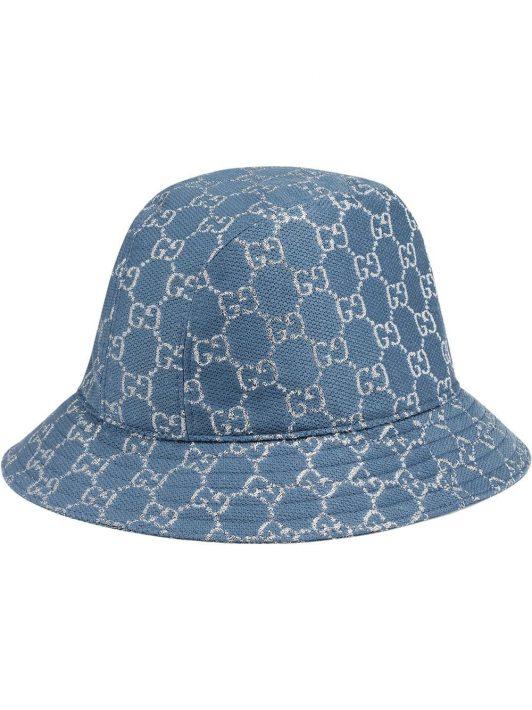 Gucci Fischerhut mit GG-Muster - Blau