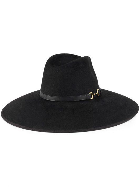 Gucci Horsebit-detail hat - Schwarz