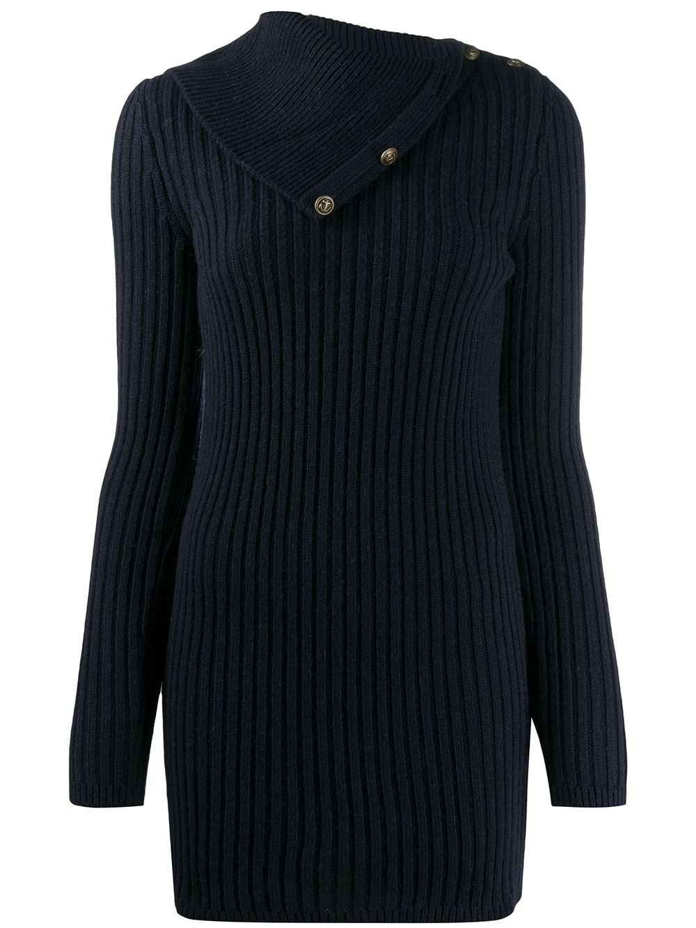 Saint Laurent Klassischer Pullover - Blau