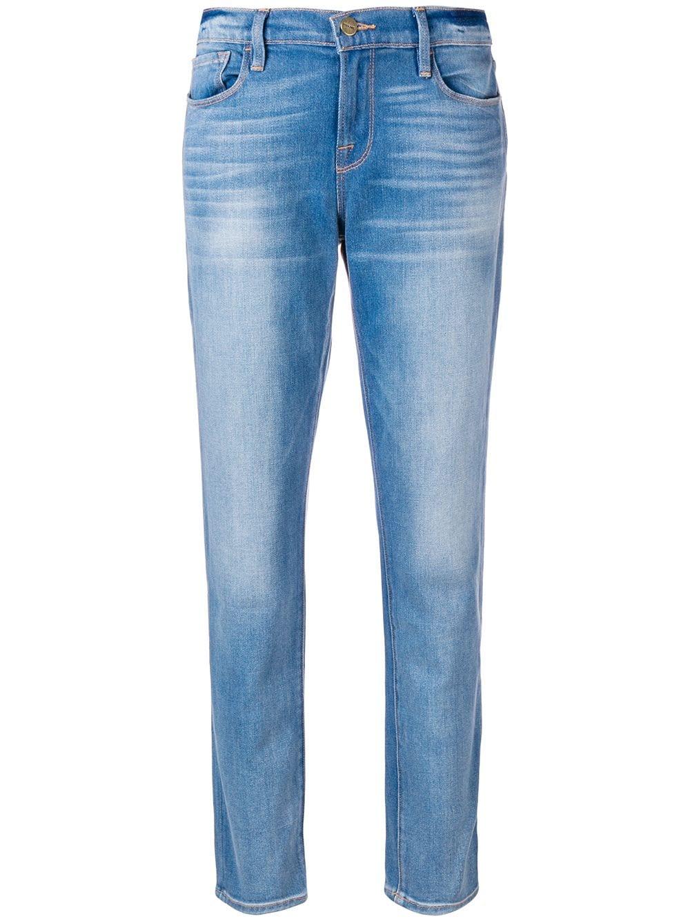 FRAME Schmale Jeans - Blau