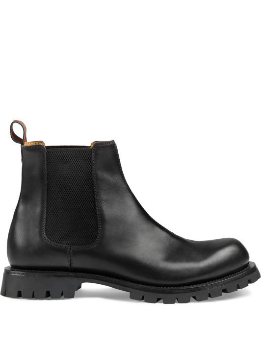 Gucci Chelsea-Boots - Schwarz