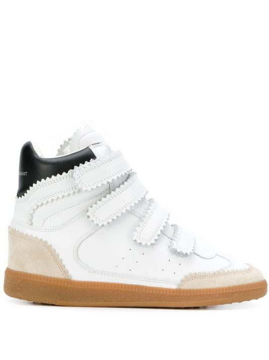 Isabel Marant 'Bilsy' High-Top-Sneakers - Weiß