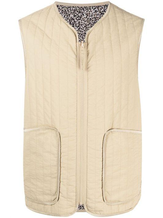 Kenzo reversible gilet jacket - Nude
