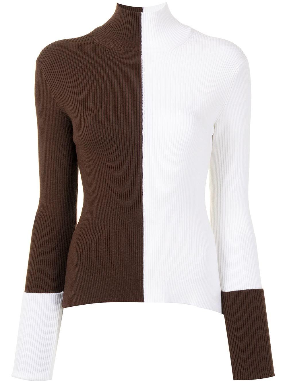Monse colour block jumper - Weiß