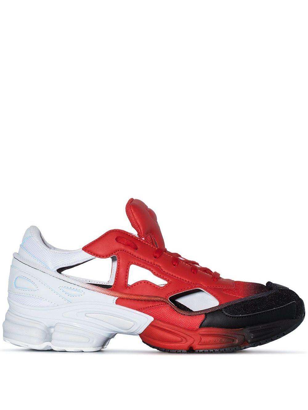 adidas by Raf Simons Adidas x Raf Simons 'Ozweego' Sneakers - Rot