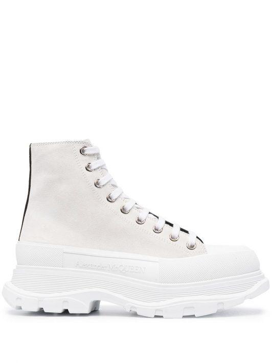 Alexander McQueen Tread Slick boots - Weiß