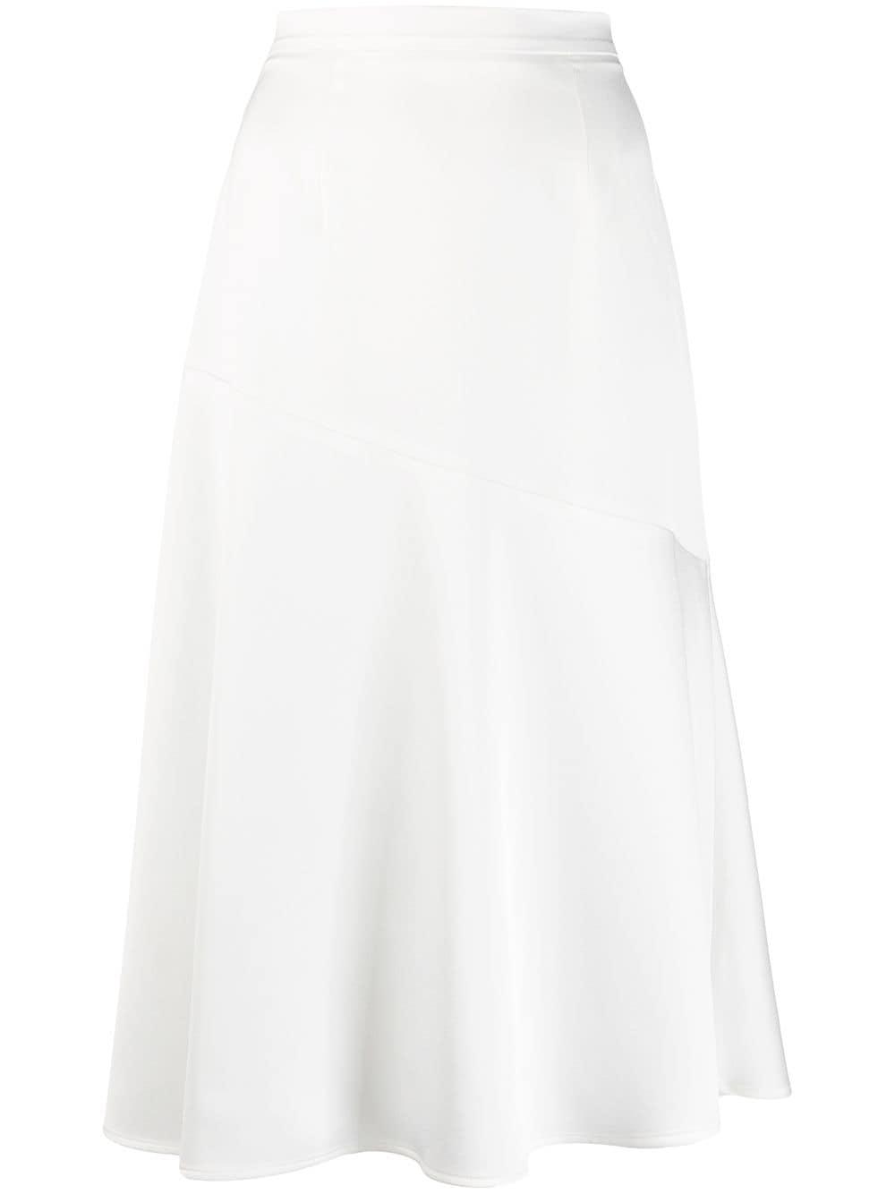 Blanca Vita Asymmetrischer Rock - Weiß
