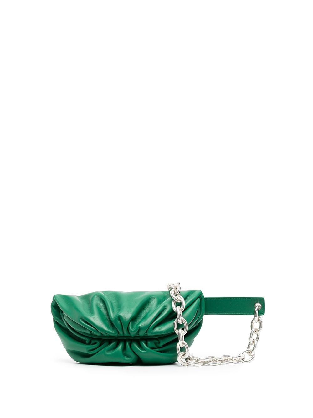 Bottega Veneta The Belt Chain pouch - Grün