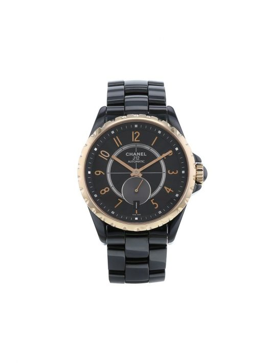 Chanel Pre-Owned 2010s pre-owned J12 Armbanduhr, 42mm - BLACK