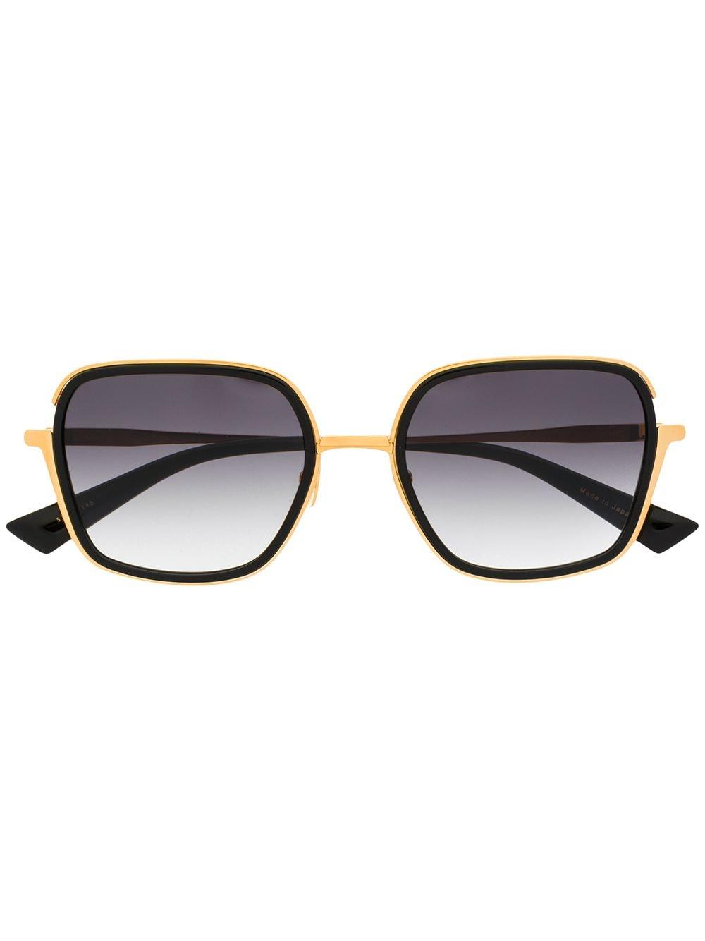 Christian Roth 'CR-101' Oversized-Sonnenbrille - Schwarz