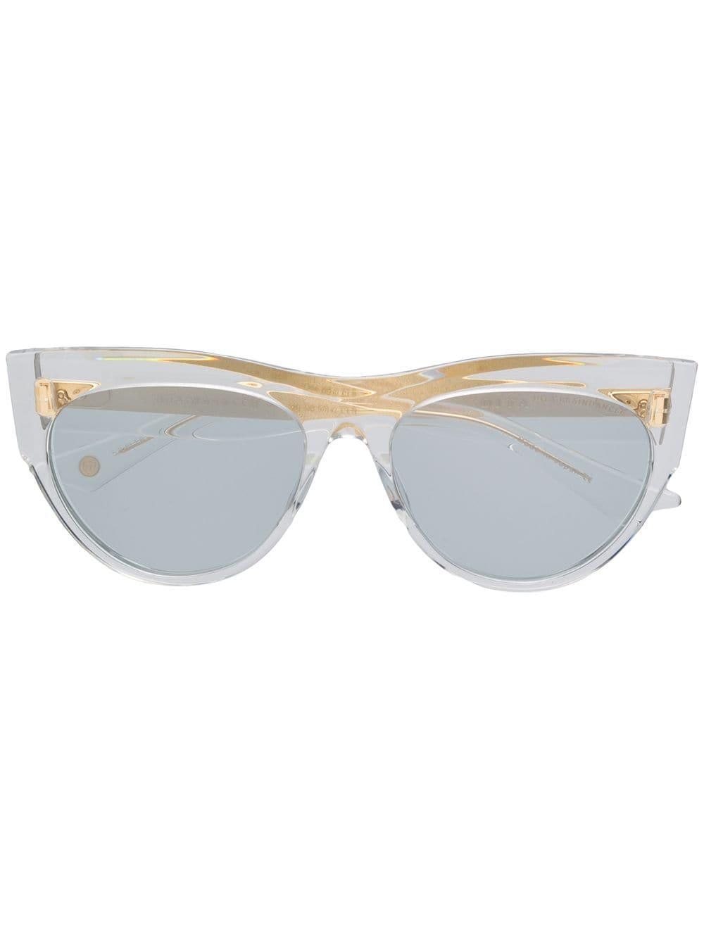 Dita Eyewear 'Braindancer' Sonnenbrille - Weiß