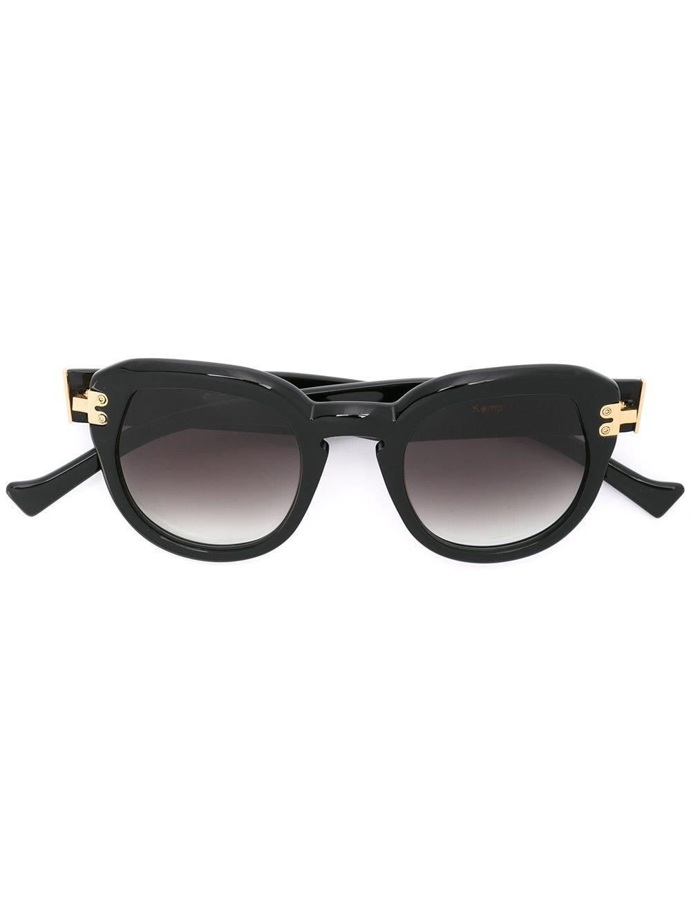Grey Ant 'Kemp' Sonnenbrille - Schwarz