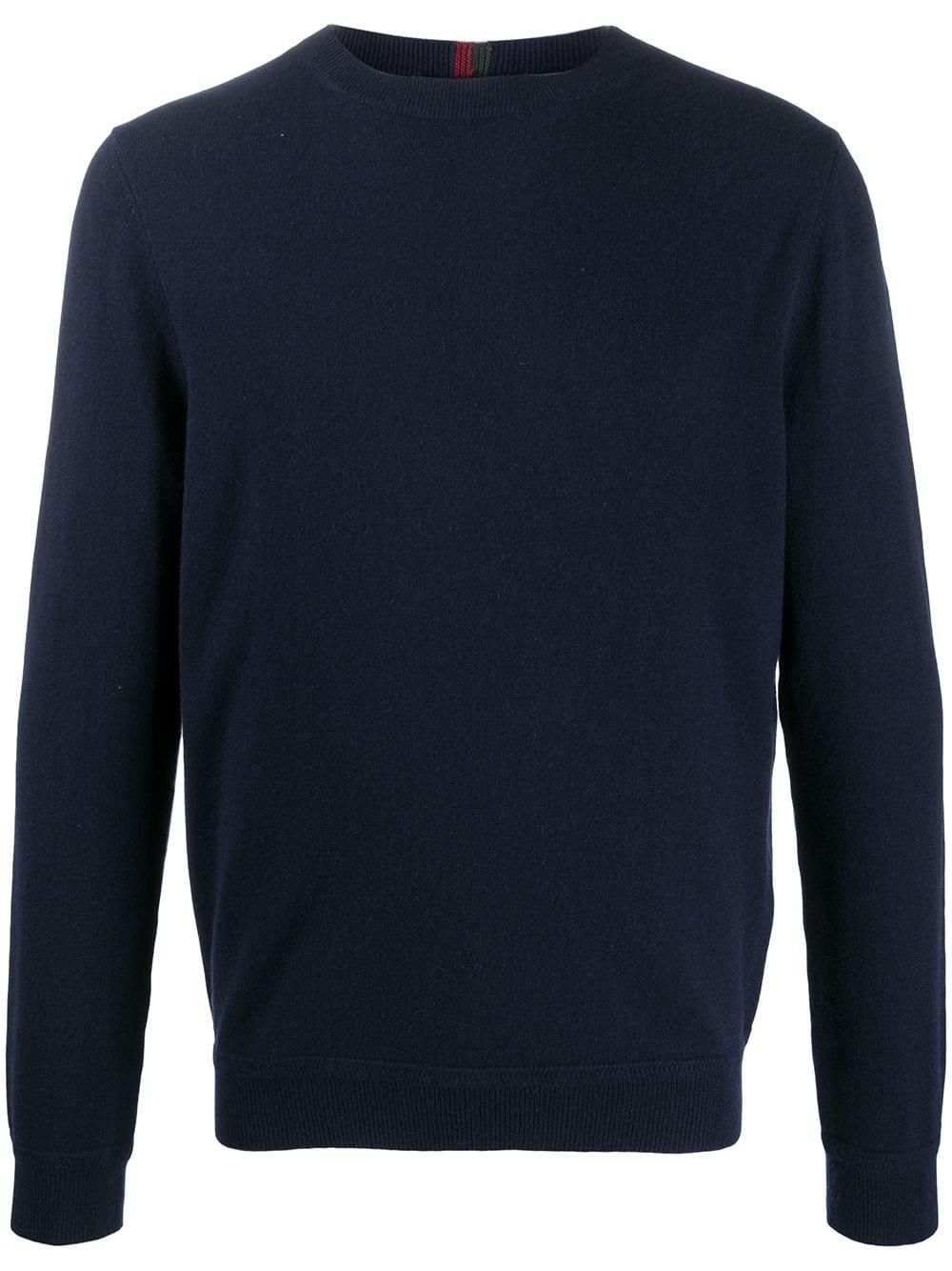 Gucci Kaschmirpullover mit rundem Ausschnitt - Blau