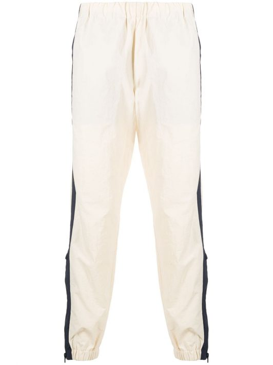 Kenzo panelled detail track pants - Nude