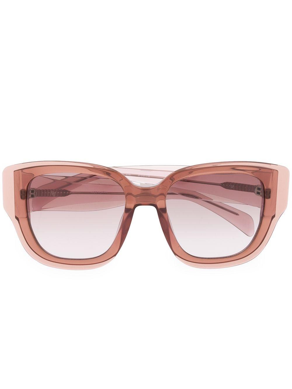 Linda Farrow 'Senna' Oversized-Sonnenbrille - Lila